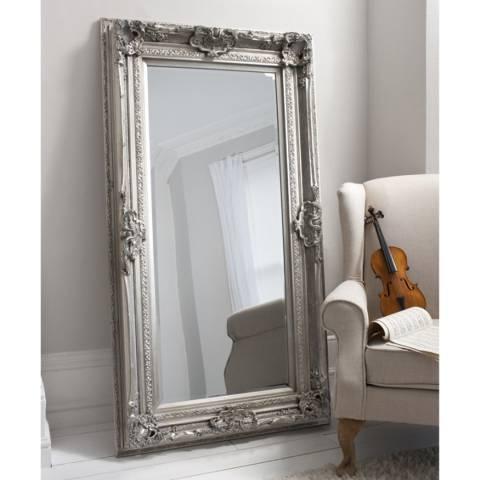 Gallery Silver Valois Mirror 183x97cm