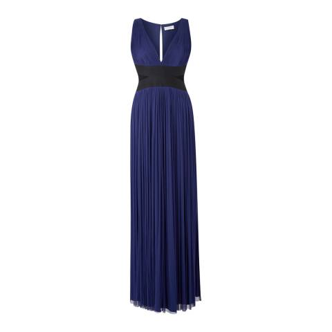 Amanda Wakeley Mulberry Nakai Long Silk Tulle Dress