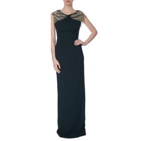 Amanda Wakeley Raven Tsuri Atelier Long Dress