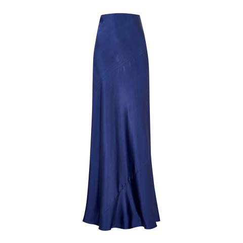 Amanda Wakeley Mulberry Asayva Satin Maxi Skirt