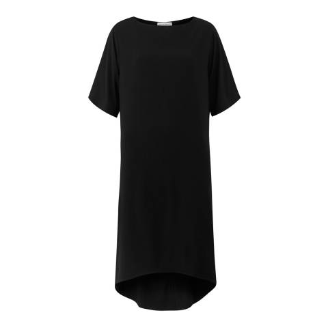 Amanda Wakeley Black Tumacacori Yarn Woven Dress