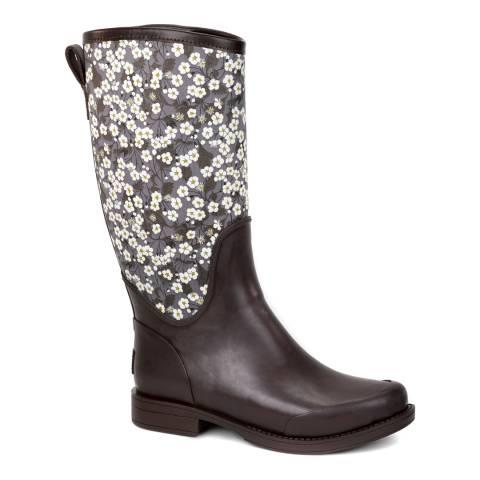 UGG Black Reignfall Liberty Rain Boots