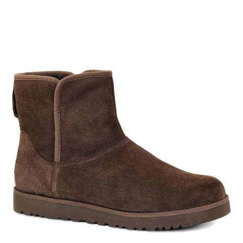 UGG Brown Suede Cory Boots