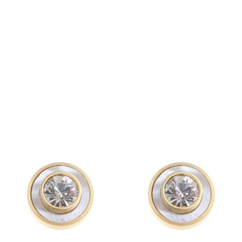 Liv Oliver Mother of Pearl Stud Earrings