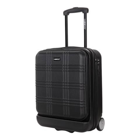 Cabine Size Black 48cm Spinner Suitcase