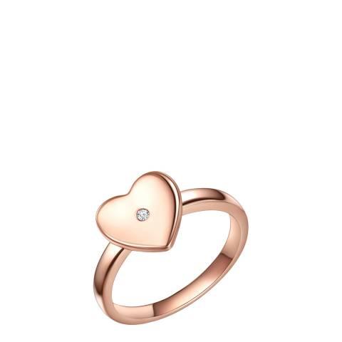 Tess Diamonds Rose Gold Heart Diamond Ring