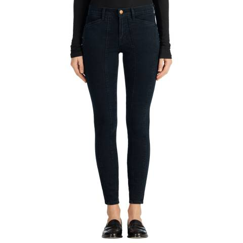 J Brand Blue Everleigh Mid Rise Skinny Stretch Jeans