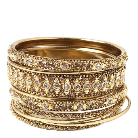 Amrita Singh Gold Keya Bangle Set