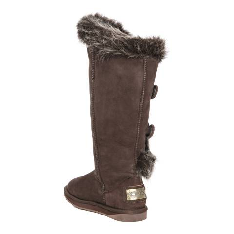 caf1ebf8900 Australia Luxe Collective Dark Brown Nordic Angel X- Tall Boots