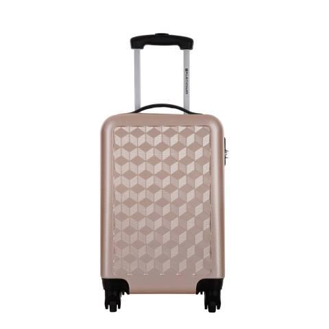 Platinium Beige Campden Spinner Cabin Suitcase 46cm