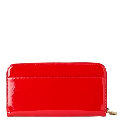 c1414f65ee11 Red Patent Leather Summer Continental Clutch Purse - BrandAlley