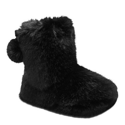 Ted Baker Black Hamond Slippers