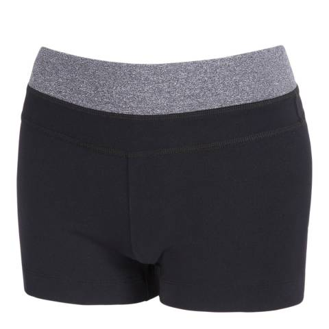 Every Second Counts Women's Black/Grey Result Shorts