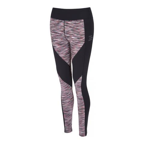 Every Second Counts Women's Space Print/Black Live Every Day Legging