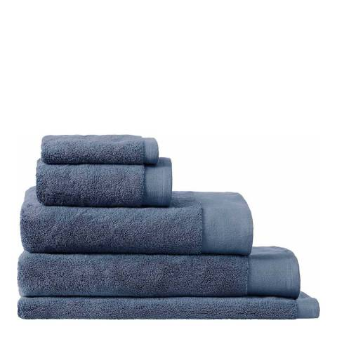 Sheridan Luxury Retreat Bath Sheet, Smokey Blue