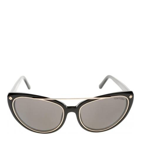 Tom Ford Women's Black/Grey Edita Sunglasses 60mm