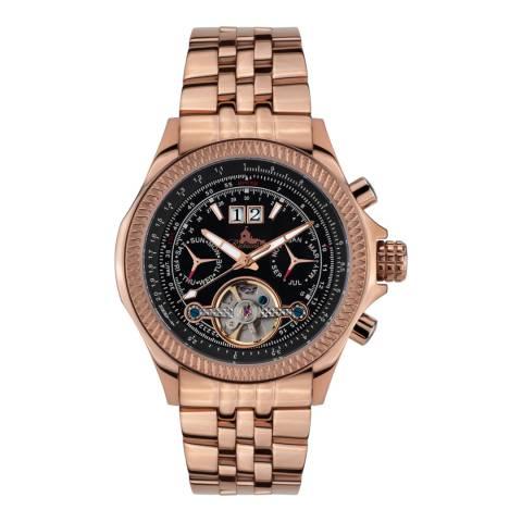 Richtenburg Men's Rose Gold Stainless Steel Torero Watch