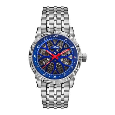 Richtenburg Men's Silver Stainless Steel Speedwheel Watch