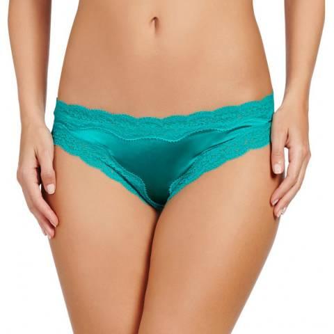 Stella McCartney Green Clara Whispering Bikini Briefs