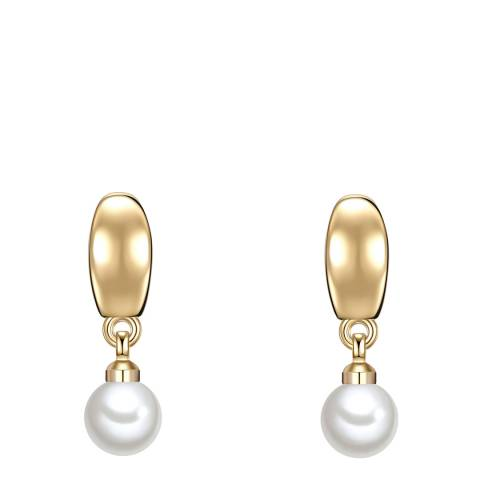Pearls of London White Pearl Earrings