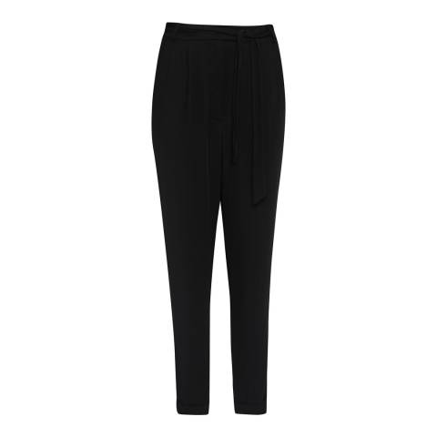 Great Plains Black Tailored Crepe Woven trousers