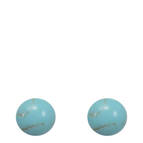 Alexa by Liv Oliver Turquoise Stud Earrings