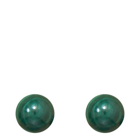 Alexa by Liv Oliver Malachite Stud Earrings