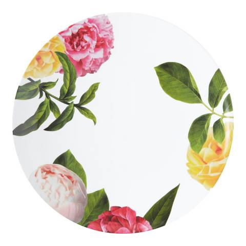 Kate Spade Floral Print Individual Patio Dinner Plate