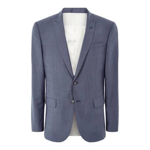 Jaeger Grey Wool/Mohair Blend Jacket
