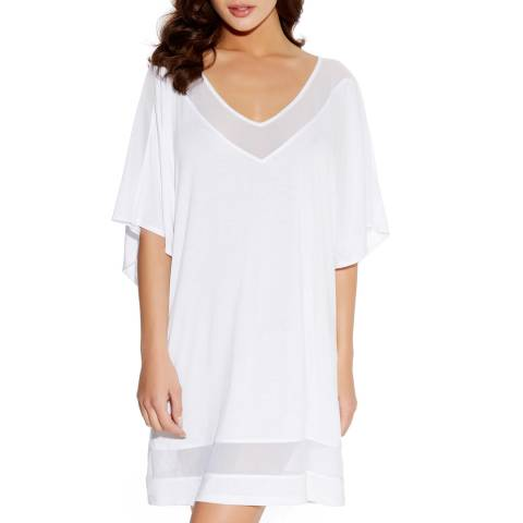 Freya White Rock Star Crochet Tunic