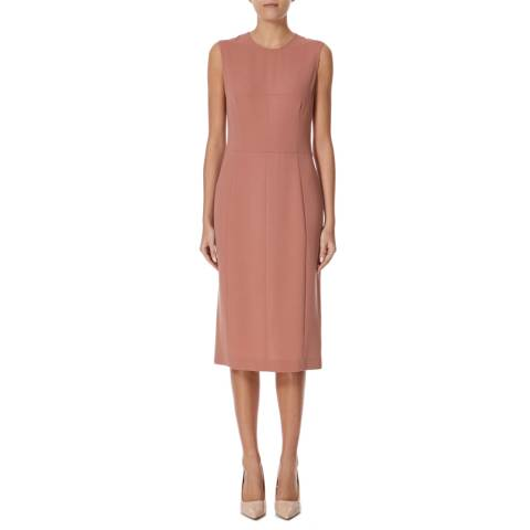 Joseph Pink Bea Crepe Dress