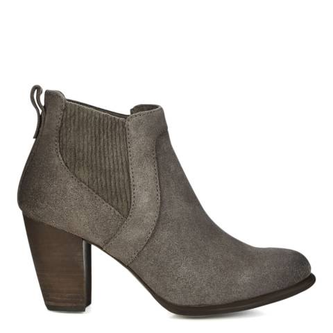 UGG Grey Suede Cobie II Ankle Boots