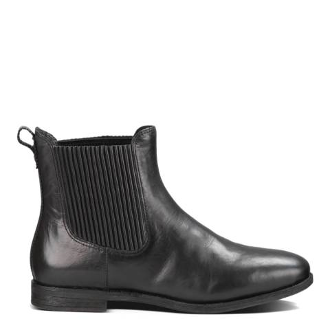 UGG Black Leather Joey Chelsea Boots