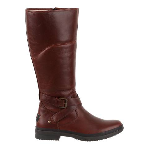 UGG Stout Leather Evanna Boots