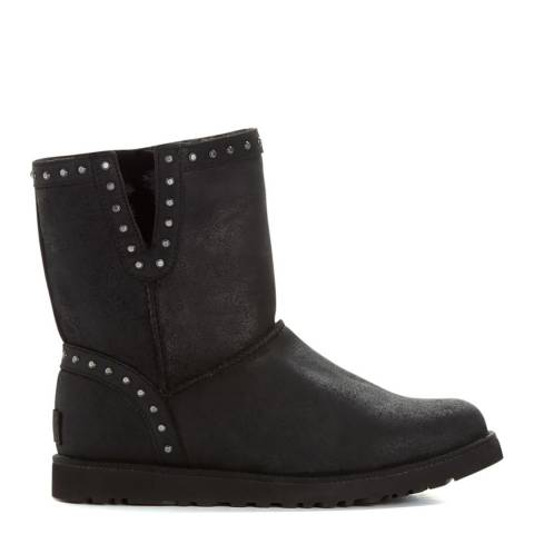 UGG Black Suede Classic Cyd Ankle Boots