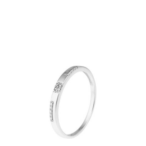 Diamant & Argent White Gold Diamond Ring 0.01ct