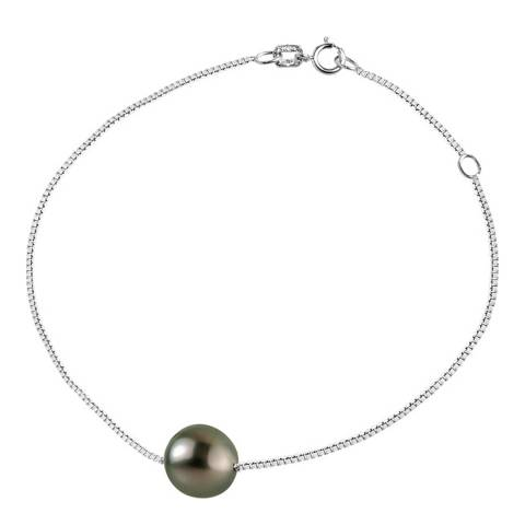 Pretty Solos Green Tahitian Pearl Bracelet 8-9mm