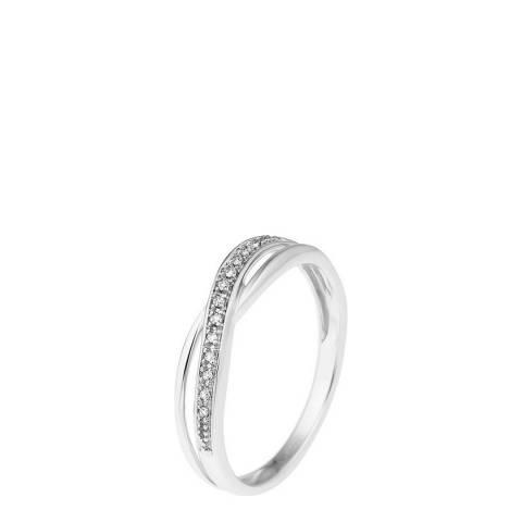 Diamond Design White Gold Diamond Ring 0.34ct
