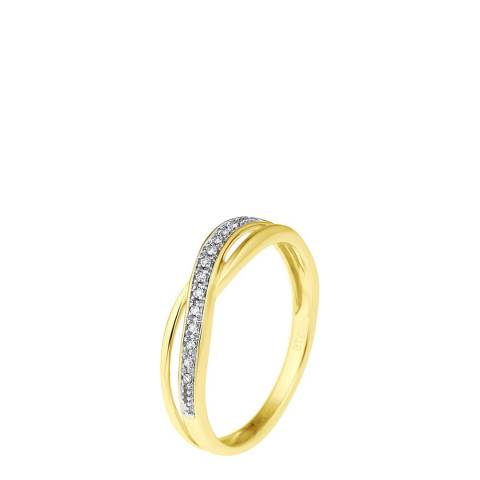 Diamond Design Gold Diamond Ring 0.34ct