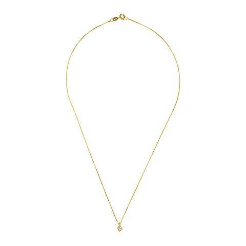 Only You Gold Diamond Pendant Necklace 0.20ct