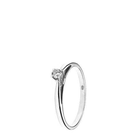 Diamant & Argent White Gold Diamond Ring 0.10ct