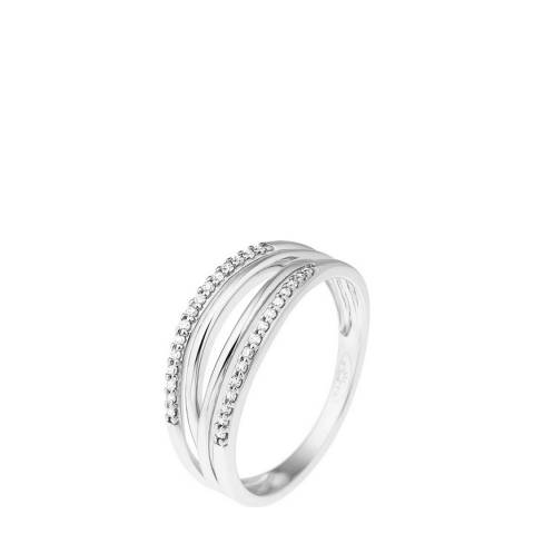 Diamant & Argent White Gold Diamond Ring 0.08ct