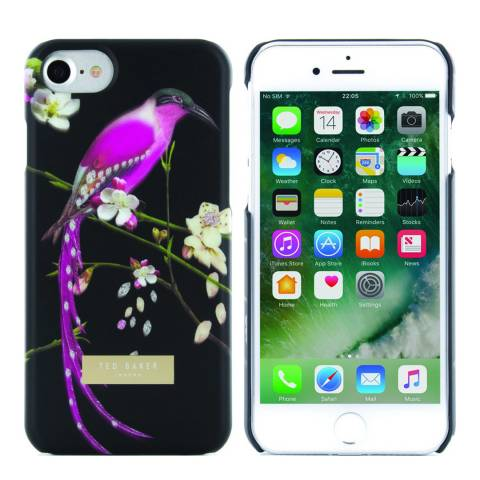 Ted Baker Black Mireill Iphone 7 Case