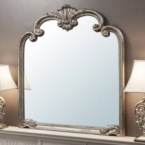 Gallery Silver Palazzo Mirror 115.5 x 104cm