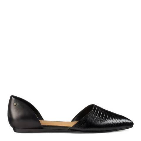 UGG Black leather Lea Lizard Pumps