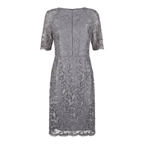 Fenn Wright Manson Grey Dione Lace Dress