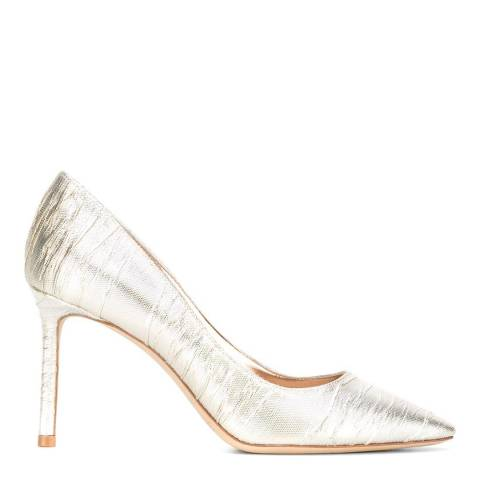 Jimmy Choo Gold Romy 85 Stilettos