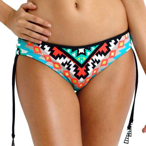 Seafolly Multi Kasbah Tie Side Hipster Bikini Briefs