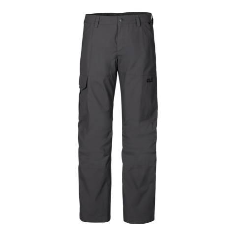 Jack Wolfskin Men's Dark Steel Whitehorse Trousers
