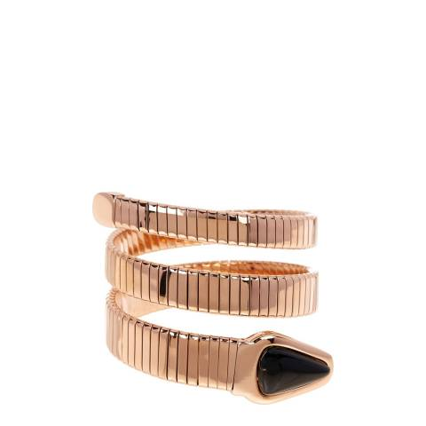 Chloe Collection by Liv Oliver Rose Gold Wrap Cuff